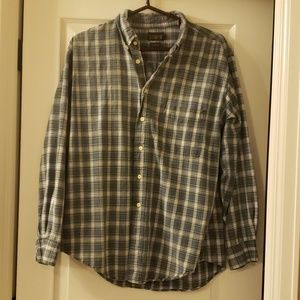 Men's J Crew plain button down shirt